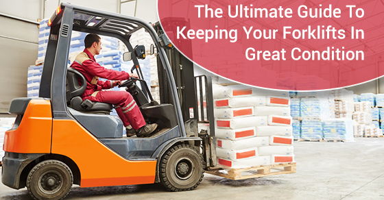 Ultimate Guide To Keeping Your Forklifts In Great Condition