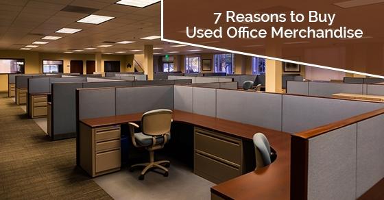 Benefits of buying used office merchandise