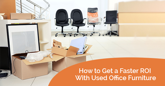 Raising capital with used office furniture