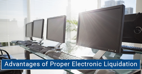 benefits of electronic liquidation