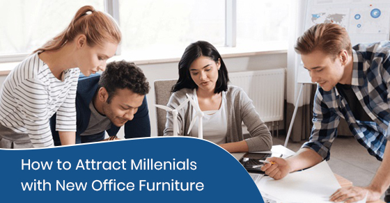 How to attract millenials with new office furniture