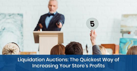 information on liquidation auctions