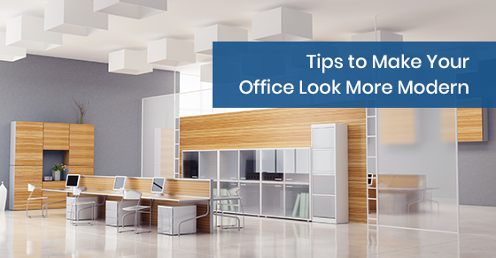 How to make your office look modern?