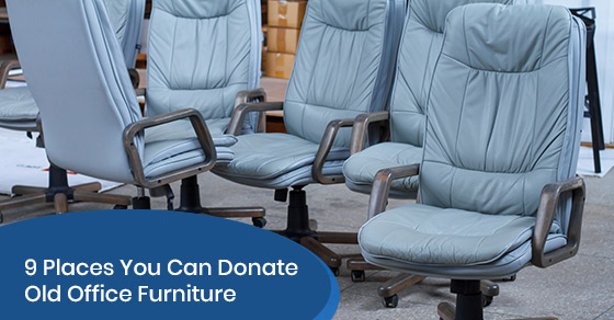 9 places you can donate old office furniture